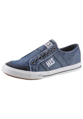 H.I.S Slip-On Sneaker, mit seitlicher Logostickerei kaufen
