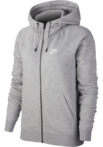 Nike Sportswear Kapuzensweatjacke »W NSW ESSNTL HOODIE FZ FLC« kaufen