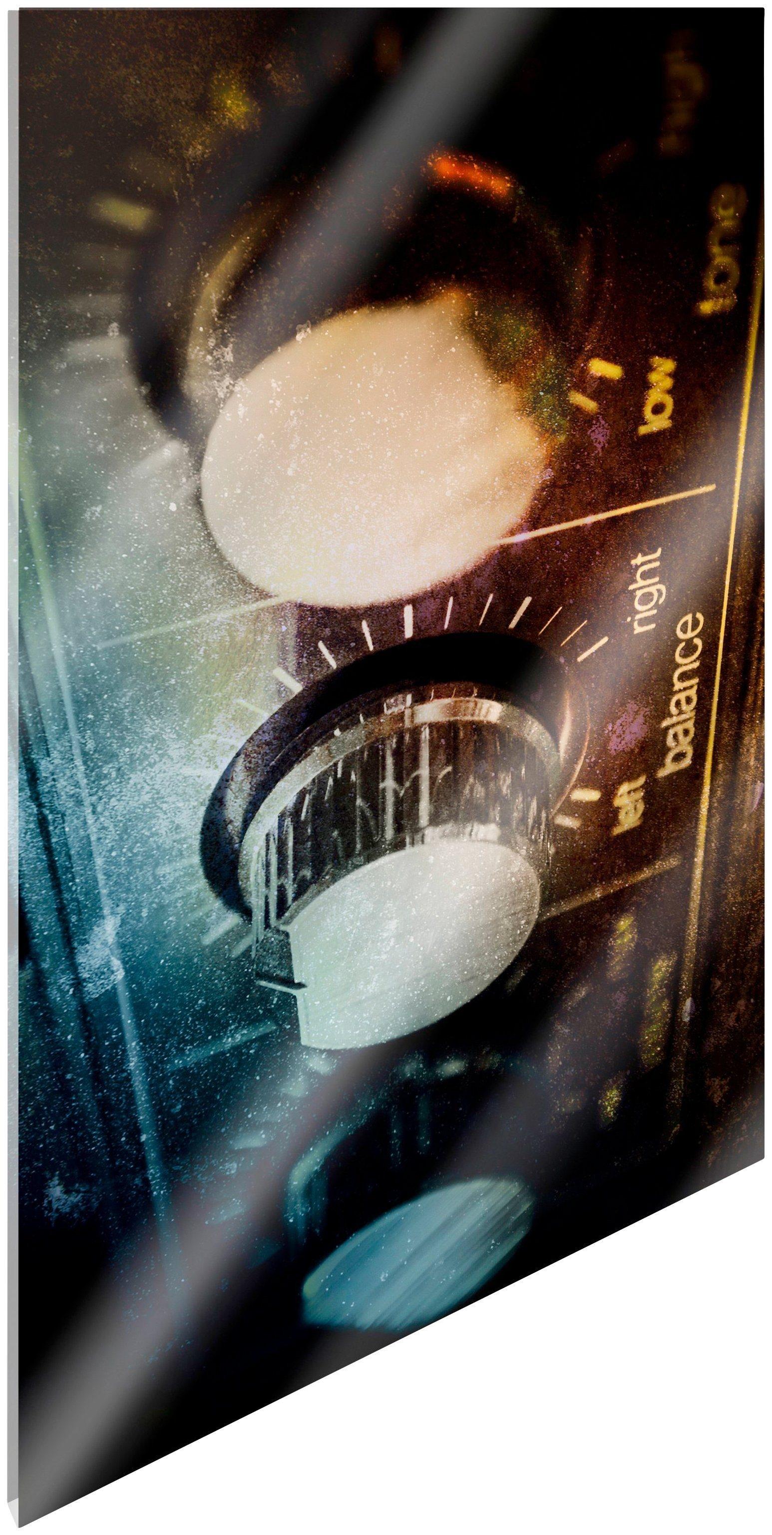 Image of Art & Pleasure Acrylglasbild »Amplifier«, Amplifier