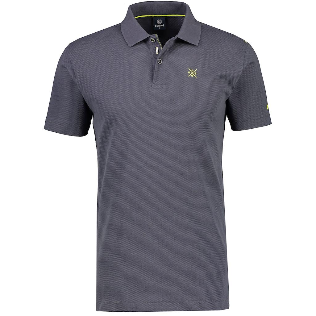 LERROS Poloshirt, mit kleinen Prints