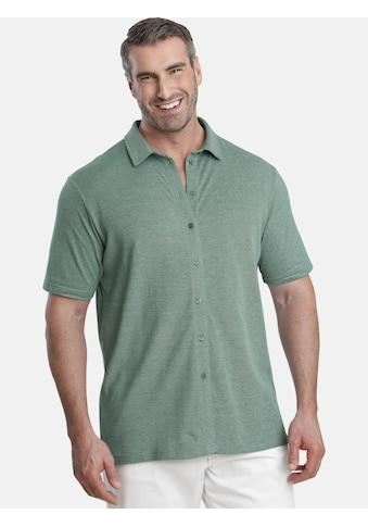 Charles Colby Poloshirt »EARL DECLAN«, komplett durchgeknöpft kaufen