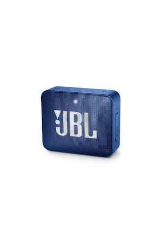 JBL Bluetooth-Lautsprecher »Bluetooth Speaker Go 2 Blau« kaufen
