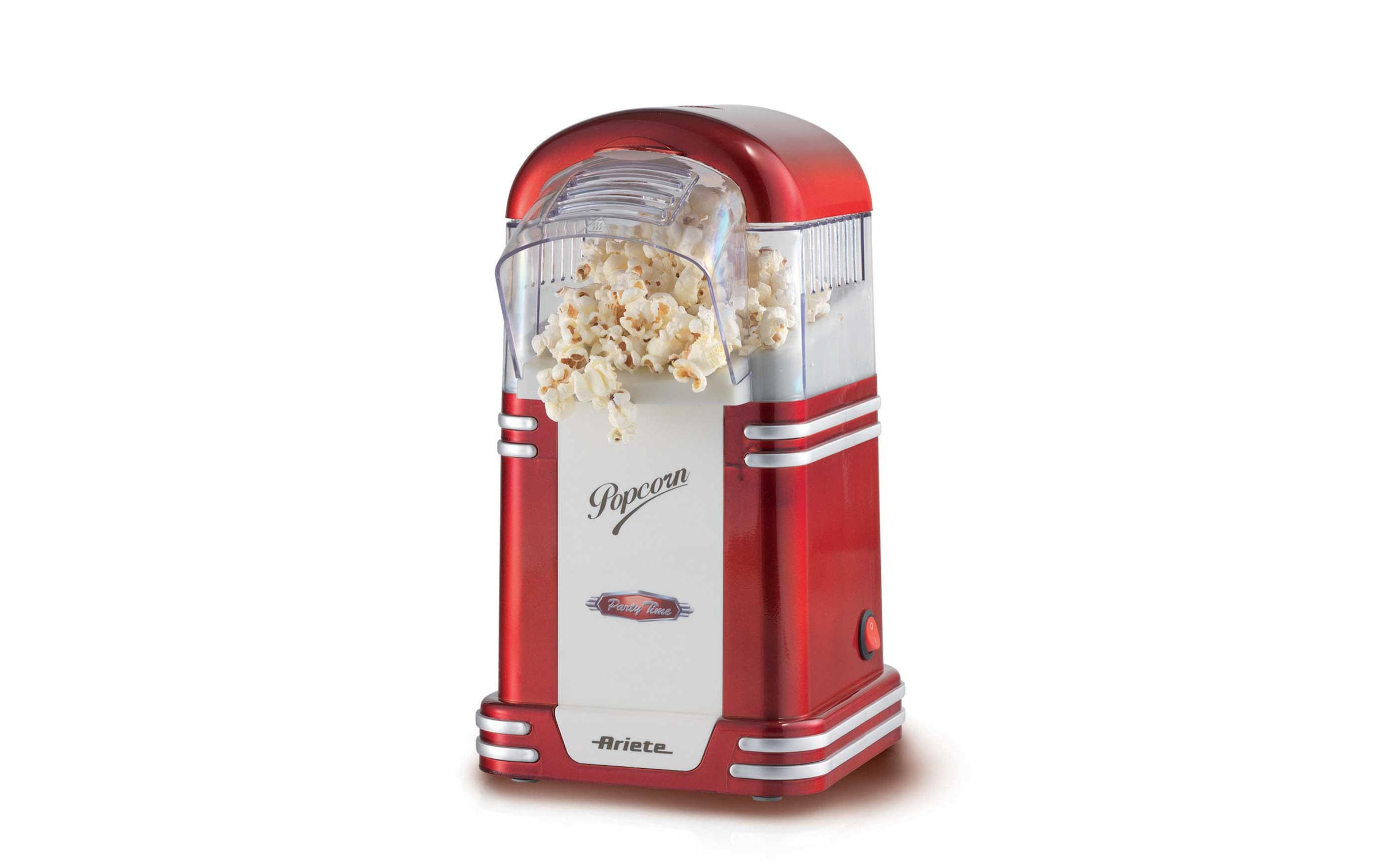 Image of Popcorn Maschine, Ariete, »Vintage Party Time Rot«