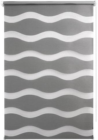 Good Life Doppelrollo »WAVE«, Lichtschutz, ohne Bohren kaufen