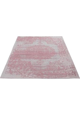 Sehrazat Teppich »Carina 6940«, rechteckig, 2 mm Höhe, Flachgewebe mit Baumwolle,... kaufen