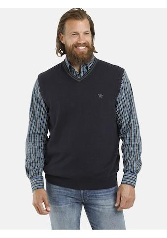 Jan Vanderstorm Pullunder »RADORM«, reine Baumwolle, Comfort Fit kaufen