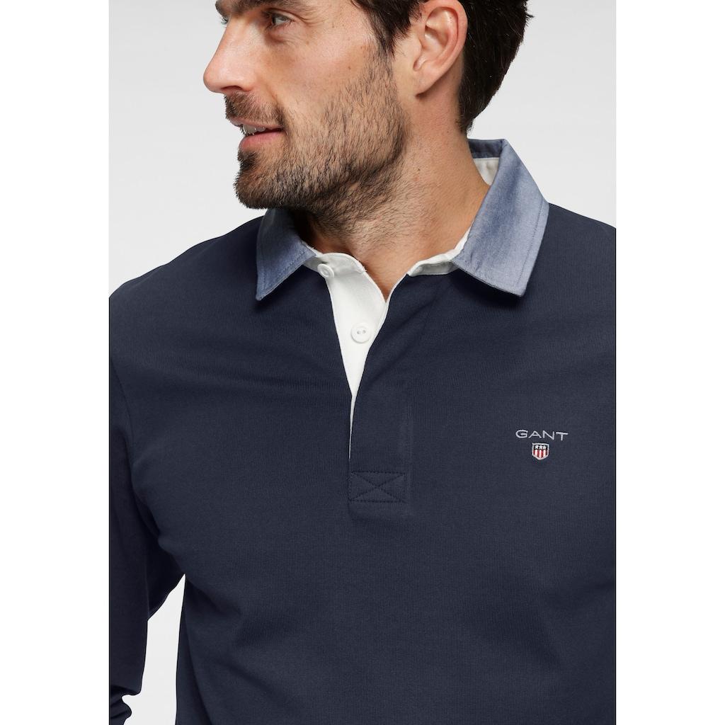 Gant Langarm-Poloshirt »ORIGINAL HEAVY RUGGER«