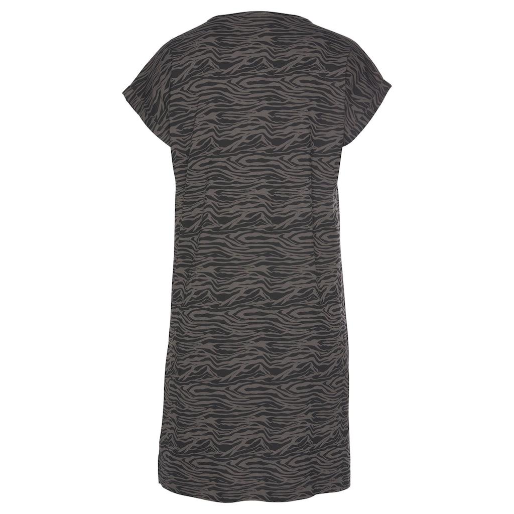 s.Oliver Bodywear Sleepshirt, mit Animal-Print