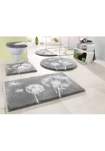 GRUND exklusiv Badematte »Pusteblume«, Höhe 20 mm, Pastell kaufen