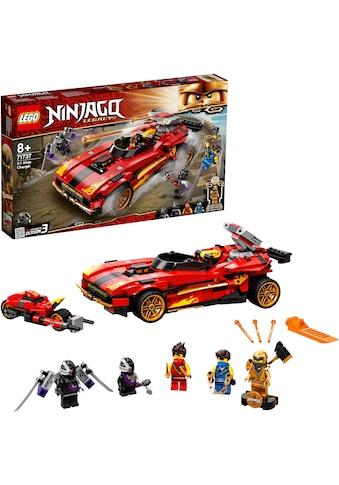 LEGO® Konstruktionsspielsteine »X-1 Ninja Supercar (71737),LEGO® NINJAGO®«, (599 St.),... kaufen