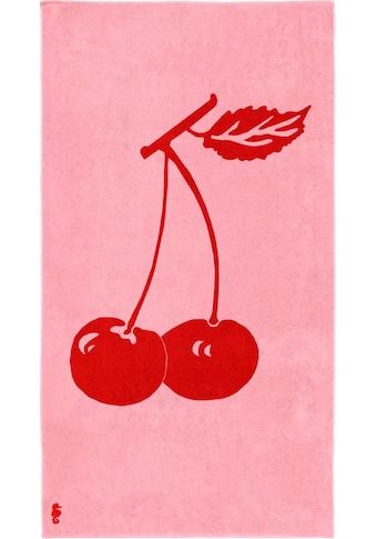 Seahorse Strandtuch »Cherry«, (1 St.), mit Kirschen kaufen