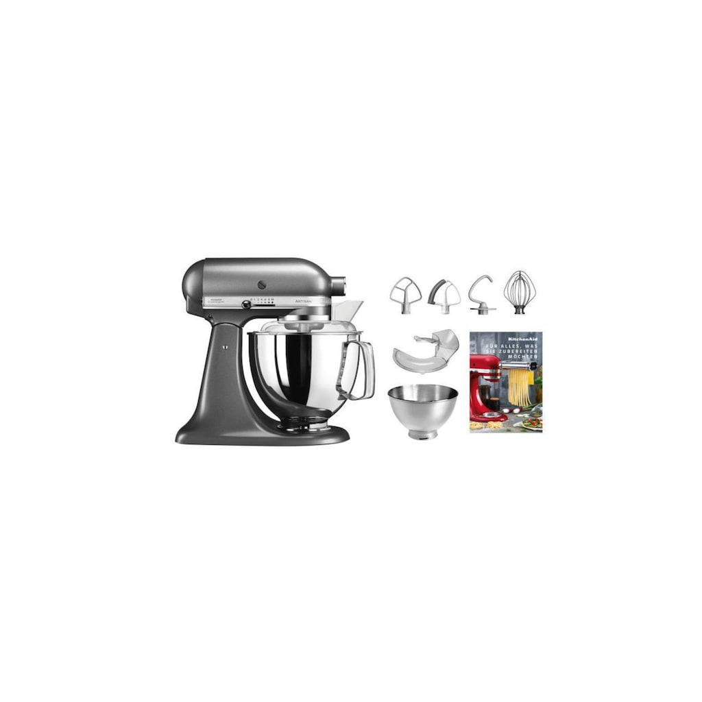KitchenAid Küchenmaschine »KSM200 Anthrazit«