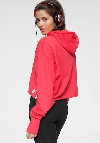 adidas Performance Kapuzensweatshirt »RECYCLE COTTON HOODY« kaufen