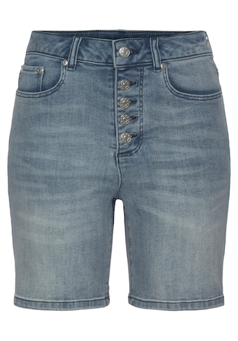 Buffalo Jeansshorts, in High-waist-Form kaufen