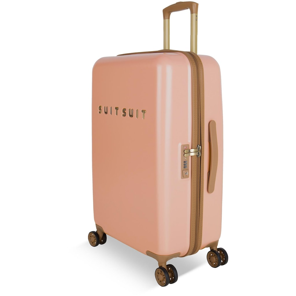 suitsuit Hartschalen-Trolley »Fab Seventies, 66 cm«, 4 Rollen