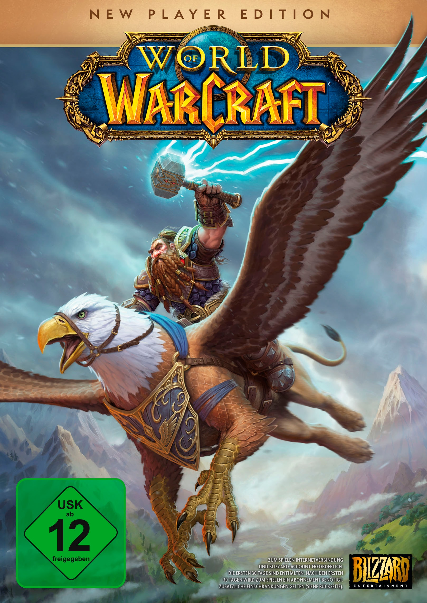 Image of ACTIVISION BLIZZARD Spiel »World of Warcraft - New Player Edition«, PC
