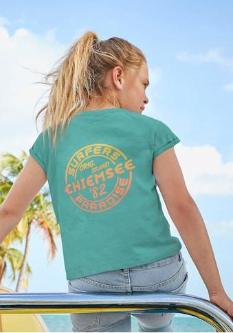 Chiemsee T-Shirt, mit Druck in Farbverlauf kaufen