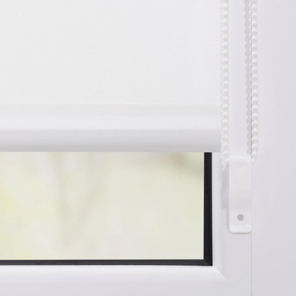 LICHTBLICK ORIGINAL Seitenzugrollo »Klemmfix Motiv Ostseestrand«, Lichtschutz, ohne Bohren, freihängend, bedruckt