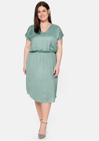 Sheego Cocktailkleid, in leichtem Oversized-Look kaufen