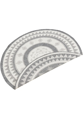 bougari Teppich »Jamaica«, rund, 5 mm Höhe, In- und Outdoor geeignet, Wendeteppich,... kaufen