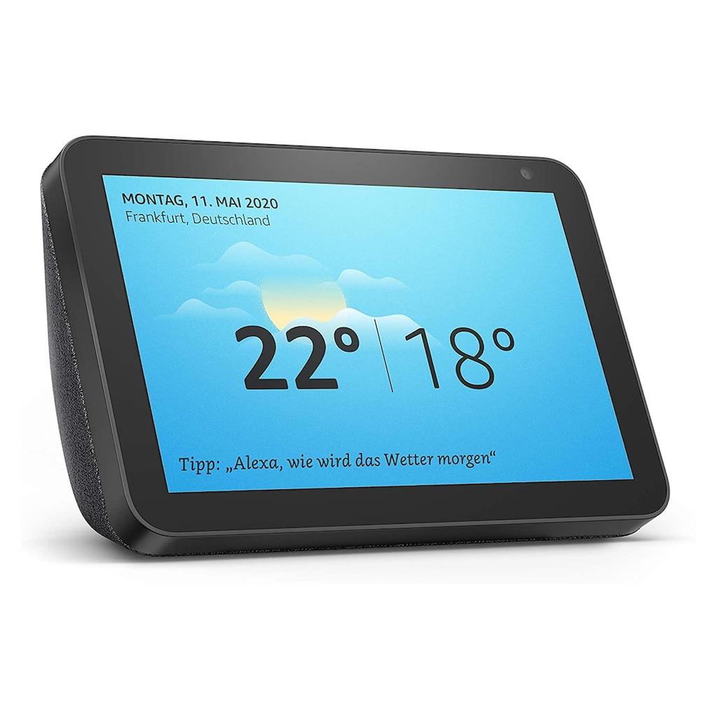 Smart Speaker »Amazon Echo Show 8 Schwarz«