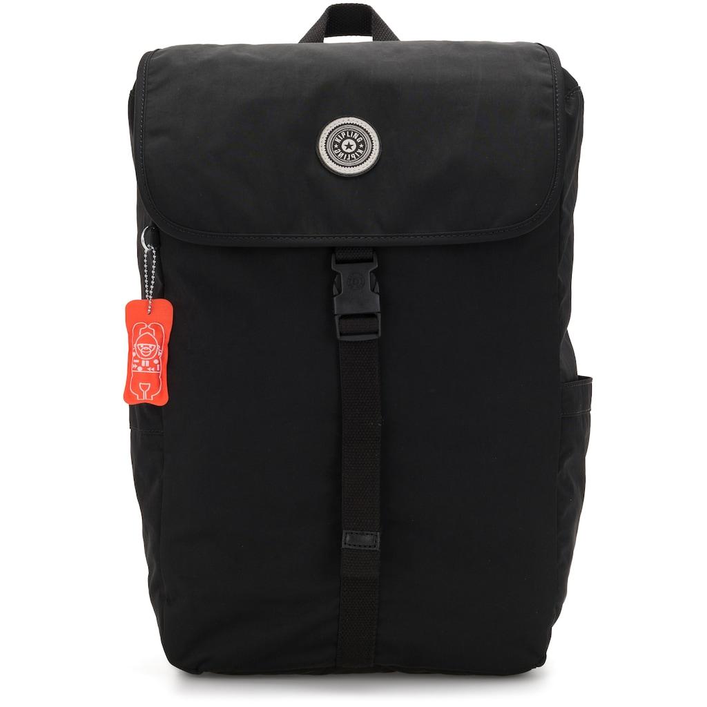 KIPLING Laptoprucksack »Winton, Brave Black«