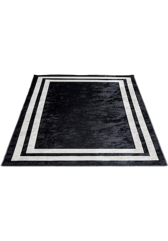 Sehrazat Teppich »Caimas 2970«, rechteckig, 5 mm Höhe, waschbar, weiche Microfaser,... kaufen