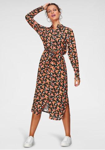 Laura Scott Hemdblusenkleid, in Midi-Länge kaufen