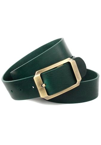 Anthoni Crown Ledergürtel, mit messingfarbener Schliesse kaufen