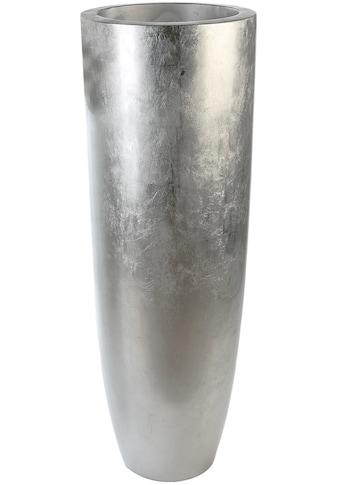GILDE Pflanzkübel »Pflanzkübel Konus, silberfarben«, (1 St.), Blumenkübel,... kaufen
