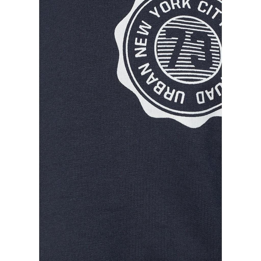 Arizona Kapuzensweatshirt, in kurzer Form