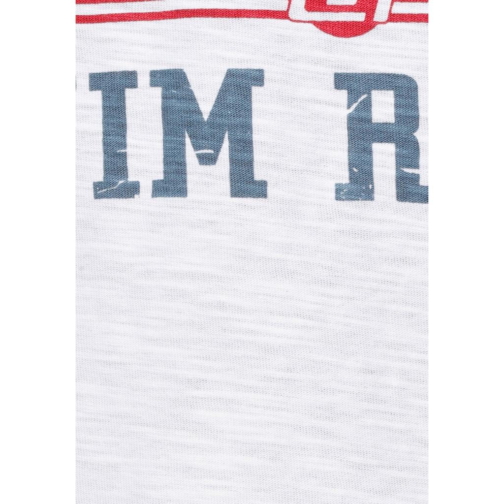Blend T-Shirt, im Retro-Look