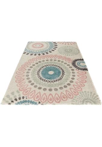 Hochflor - Teppich, »Globe«, MINT RUGS, rechteckig, Höhe 35 mm, maschinell gewebt kaufen