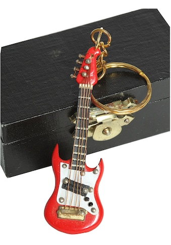 Ambiente Haus Dekofigur »Schlüsselanhänger E-Gitarre rot 7cm« kaufen