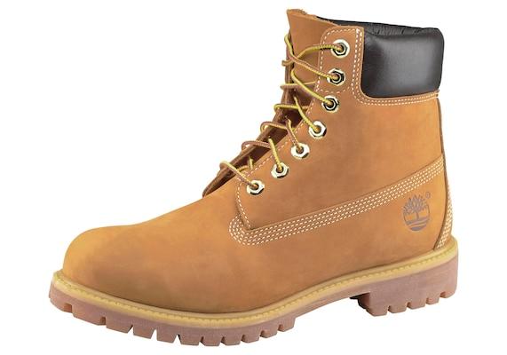 Timberland 6 Inch Premium Boots Black 42 NEU in 88662