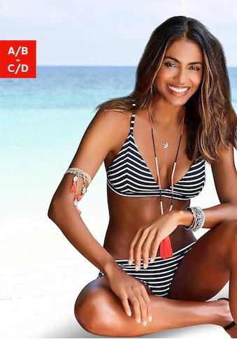s.Oliver Triangel-Bikini-Top »Hill«, gestreift kaufen
