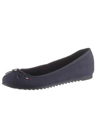 Tommy Jeans Ballerina »TOMMY JEANS BALLERINA«, mit kleiner Zierschleife kaufen