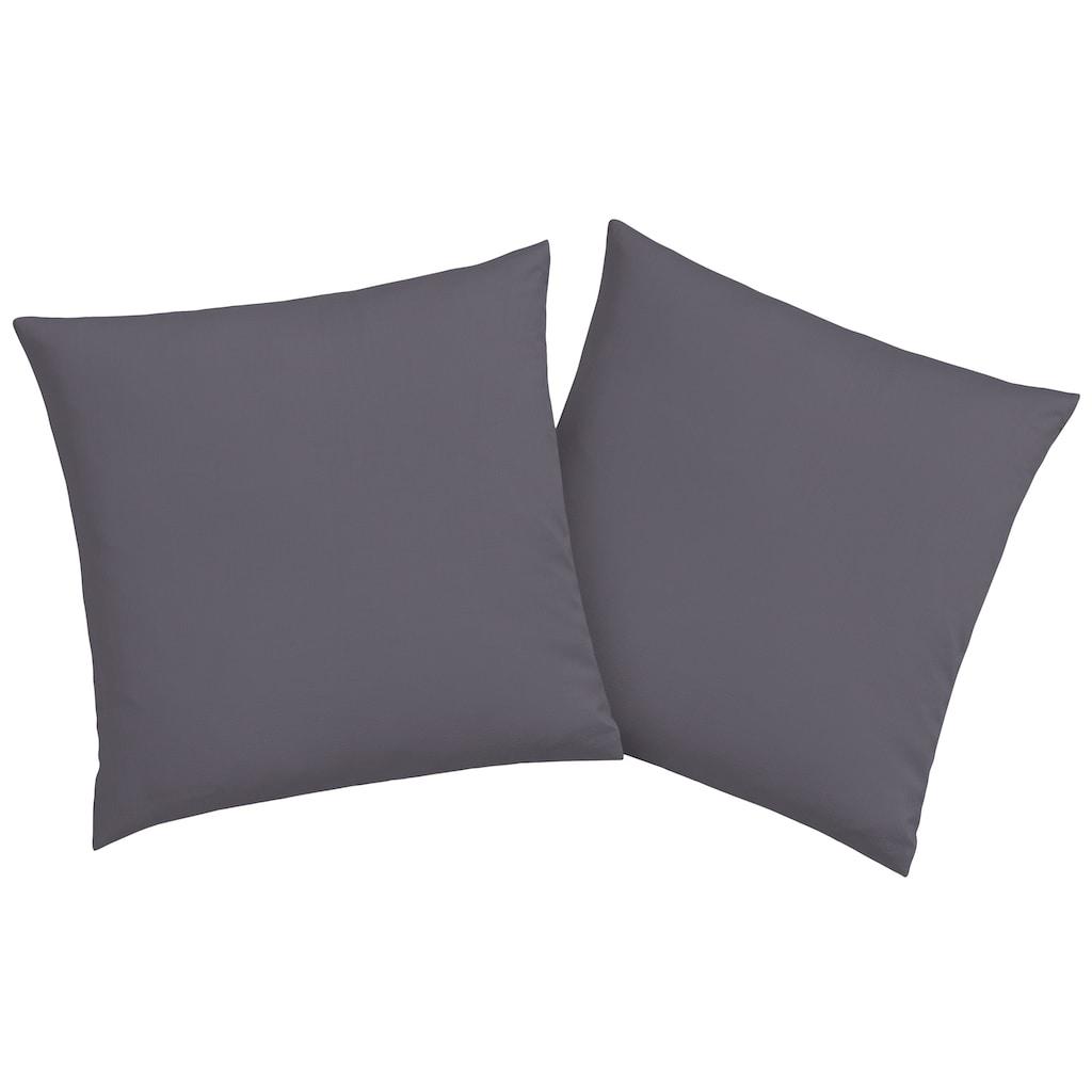 GOODproduct Kissenhüllen »Neele«, (2 St.), aus reiner Bio-Baumwolle