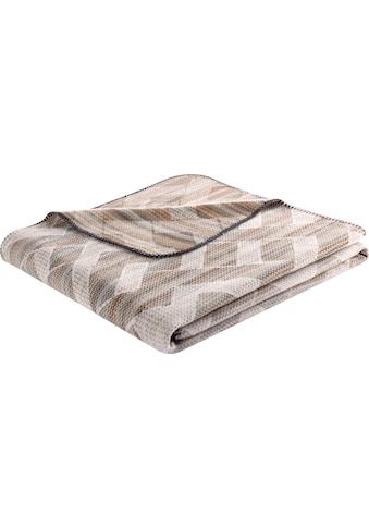 BIEDERLACK Wohndecke »Interweaved«, mit Muster kaufen