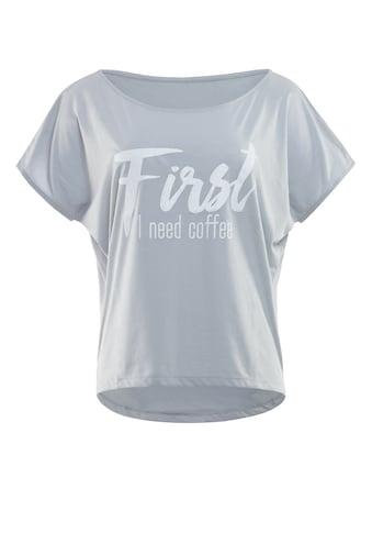 Winshape Oversize-Shirt »MCT002 ultra leicht«, mit weissem Glitzer-Aufdruck kaufen