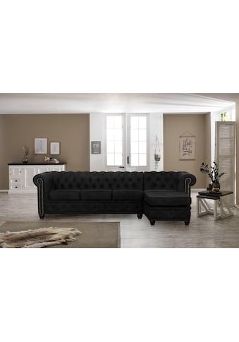 Premium collection by Home affaire Ecksofa »Rysum«, Chesterfield-Optik mit... kaufen