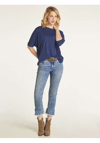 LINEA TESINI by Heine 5-Pocket-Jeans, mit Volant kaufen