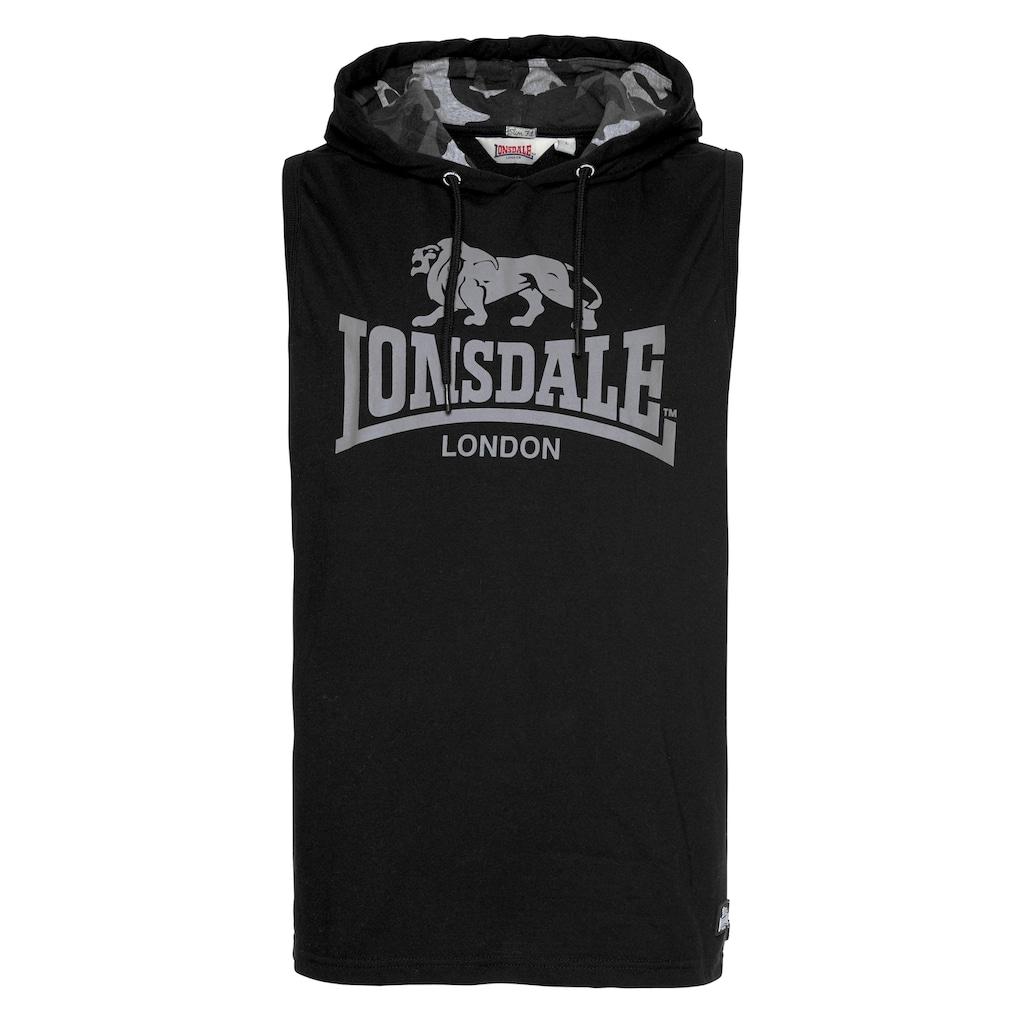 Lonsdale Tanktop »PONSONBY«, Mit Kapuze