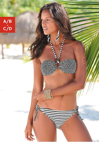 s.Oliver Bandeau-Bikini, im coolen Mustermix kaufen