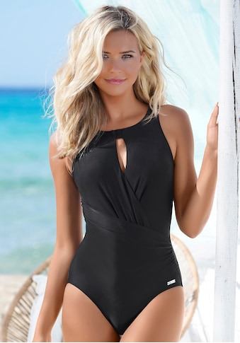 LASCANA Badeanzug, mit besonderem Ausschnitt kaufen