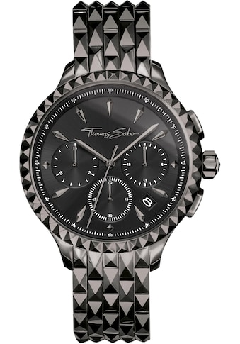 THOMAS SABO Chronograph »REBEL AT HEART, WA0348 - 202 - 203 - 38 mm« kaufen