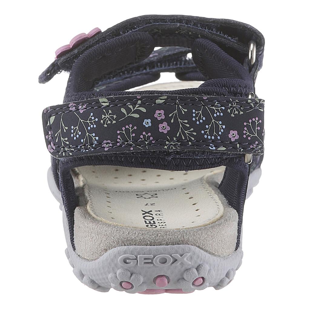 Geox Kids Sandale »Sandal Roxanne«, mit praktischen Klettverschlüssen