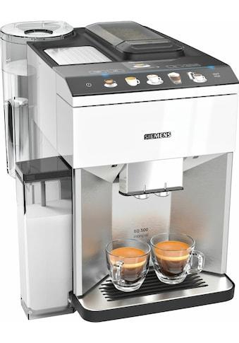 SIEMENS Kaffeevollautomat »EQ.500 integral TQ507D02«, einfache Bedienung, integrierter... kaufen