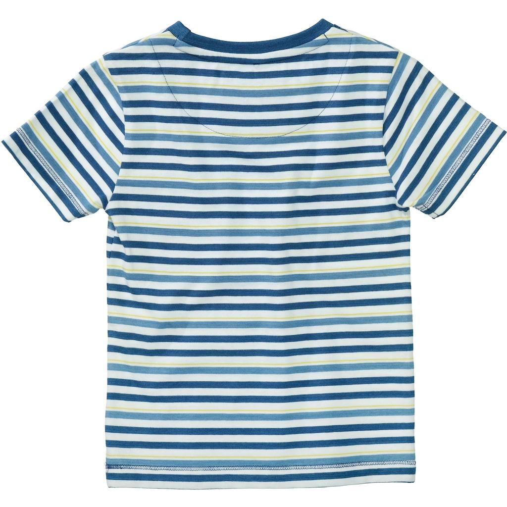BASEFIELD T-Shirt »gestreift«