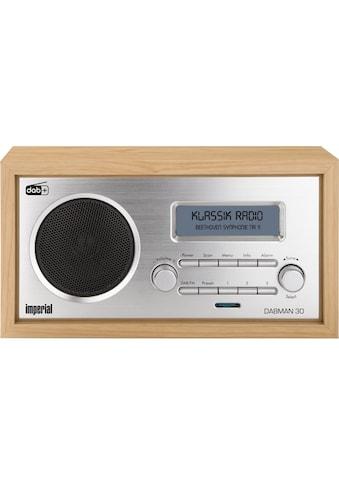 IMPERIAL Digitalradio (DAB+) »Dabman 30 Braun«, (Digitalradio (DAB+)-FM-Tuner) kaufen